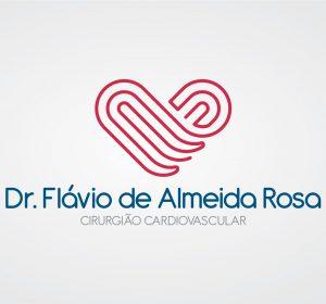 <span>Dr. Flávio de Almeida Rosa | Identidade Visual</span><i>→</i>