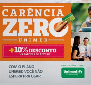 <span>Unimed | Carência Zero</span><i>→</i>